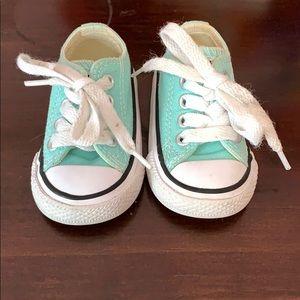 Teal Converse